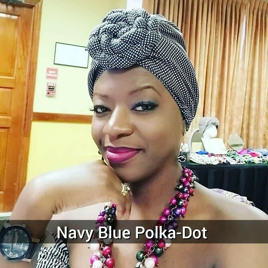 Polka-Dot AfroBonnets