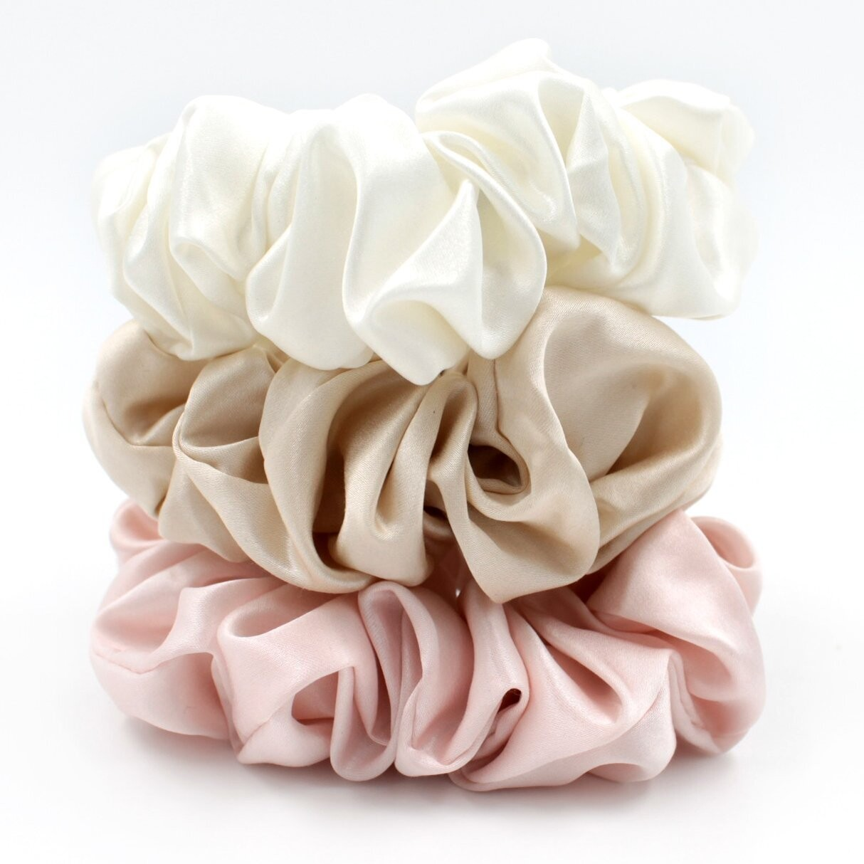 Over-sized Scrunchies- Set of 3
