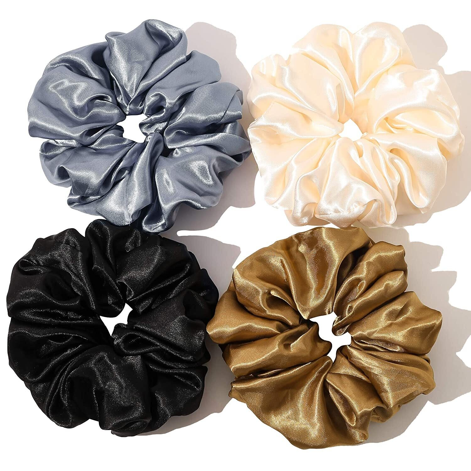 Over-sized Scrunchies- Set of 4
