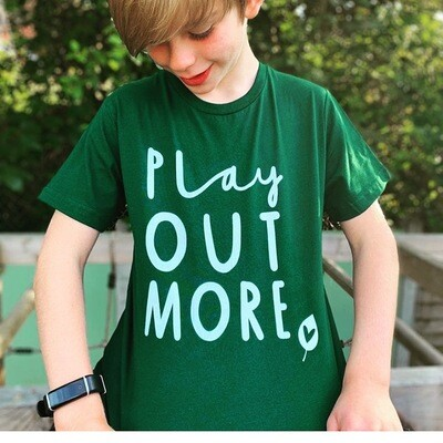 GREEN Play Out More T-shirt