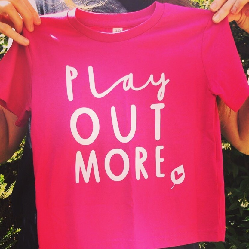 PINK Play Out More T-shirt