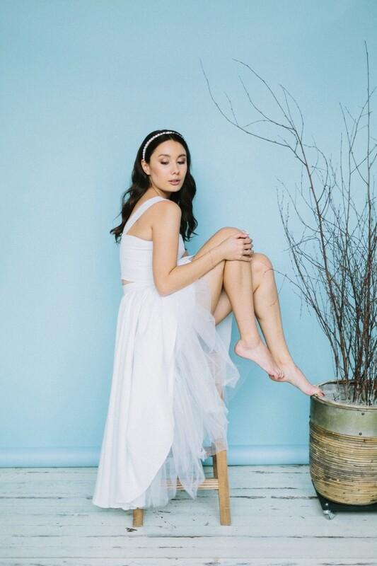 Комплект: топ July + юбка Mary