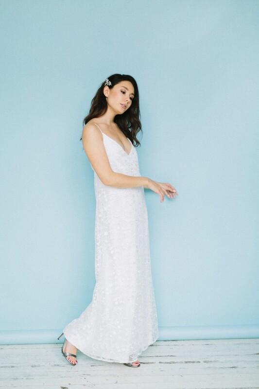 Платье-комбинация в пол Celine