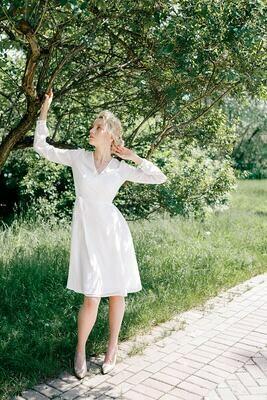 Платье на запах Lily