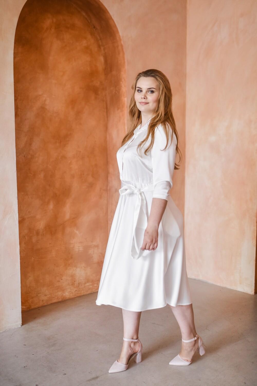 Платье-рубашка Monika Plus