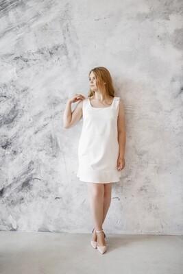 Платье-мини с бантом Lola Plus