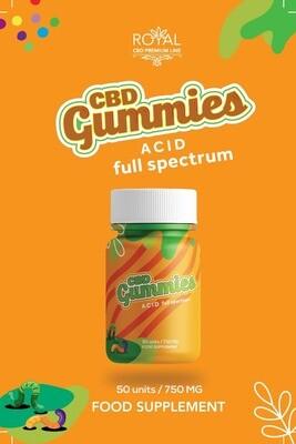 Royal Gummies Acid Full Spectrum