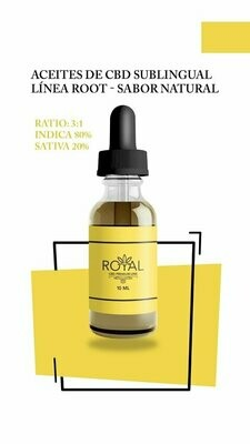 Aceite Sublingual  Root Ratio 3a1 - 10ml