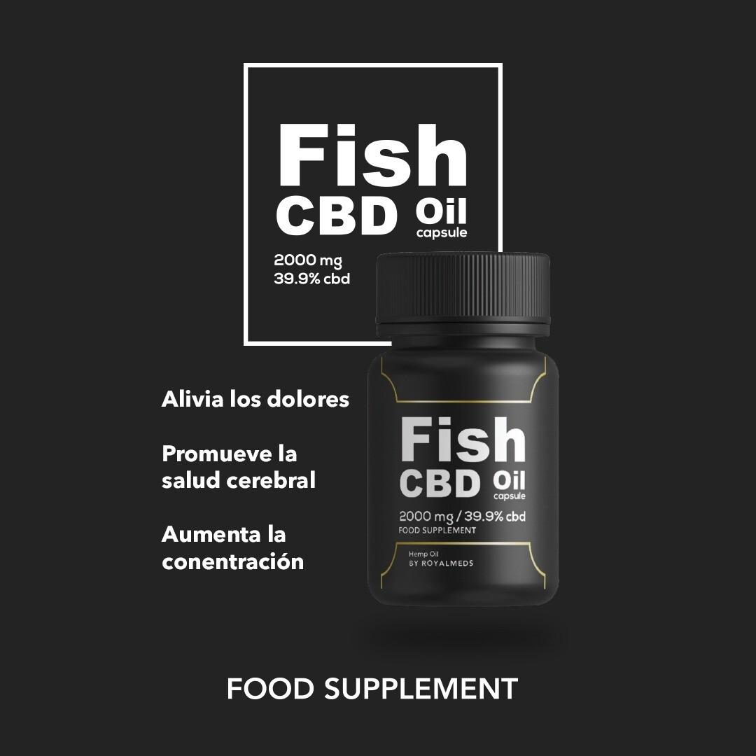 Capsula Fish Oil 39,9% + Omega3,6 y 9   60U