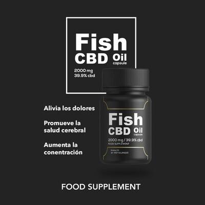 Capsula Fish Oil 39,9% + Omega3,6 y 9 | 60U