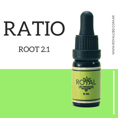 Aceite Sublingual Root Ratio 2a1 - 10ml