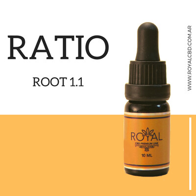 Aceite Sublingual Root Ratio 1a1 - 10ml
