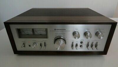 Kenwood KA-9100 - Verstärker / Amplifier - Holzgeäuse / Woodcase