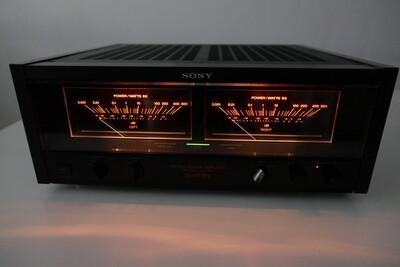 Sony TA-N77ES - Endstufe - Power Amplifier - VU Meters - S/N 500508