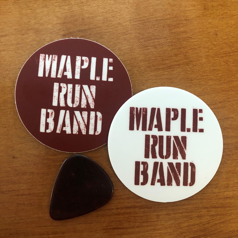 Maple Run Band Sticker Pack
