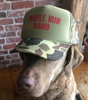 Maple Run Band Hat - FREE SHIPPING TO USA