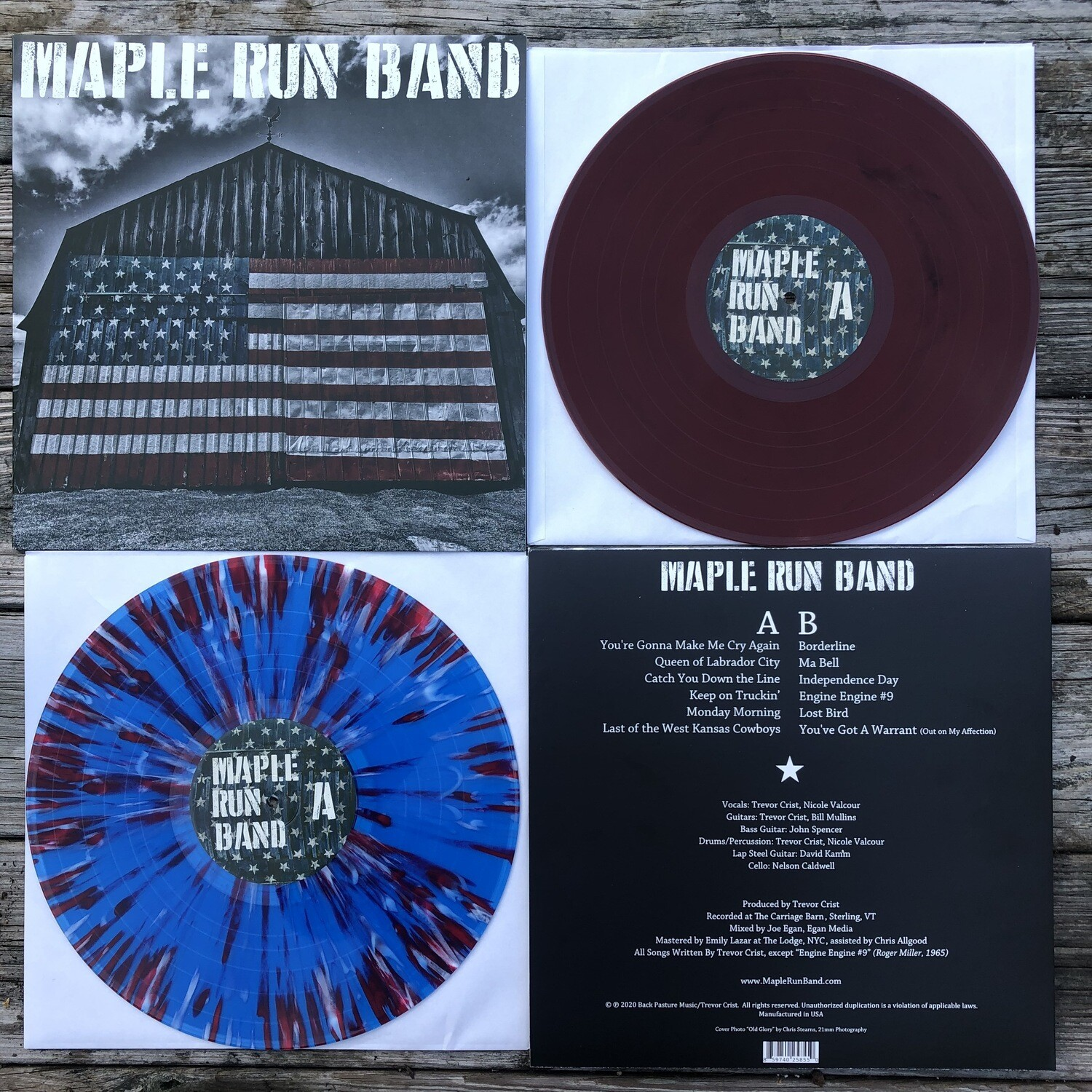 Maple Run Band LP - FREE SHIPPING TO USA