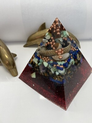 Major Generator Orgonite Pyramid