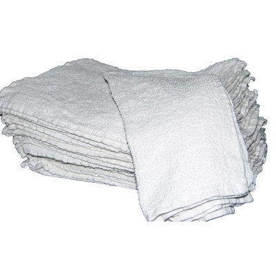 White Cotton Bar Towels 16x19 (5 Doz.)