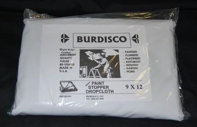 Butyl Backed Drop Cloth- 9X12