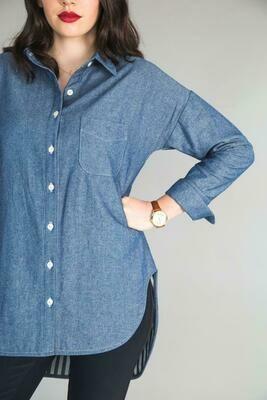 CLC - Kalle Shirtdress Sleeve Pattern Expansion