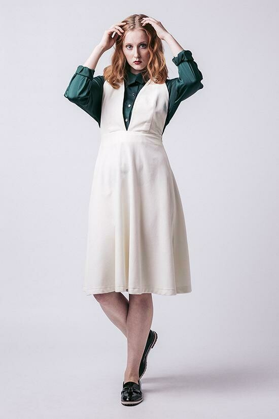 NAM - Amber Pinafore Dress