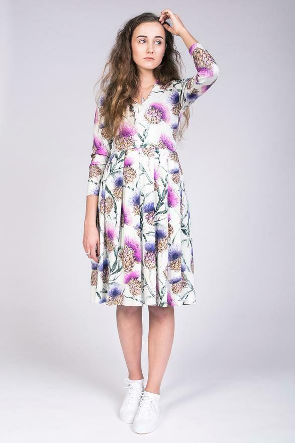 NAM - Tuuli V-Neck Jersey Dress & Bodysuit