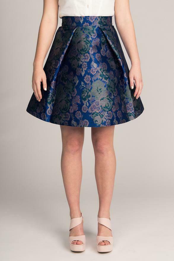 NAM - Eleonora Pleated Mini Skirt