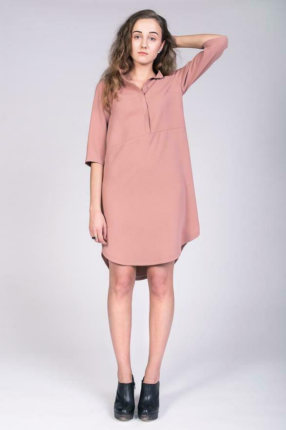 NAM - Helmi Trench Blouse & Tunic Dress