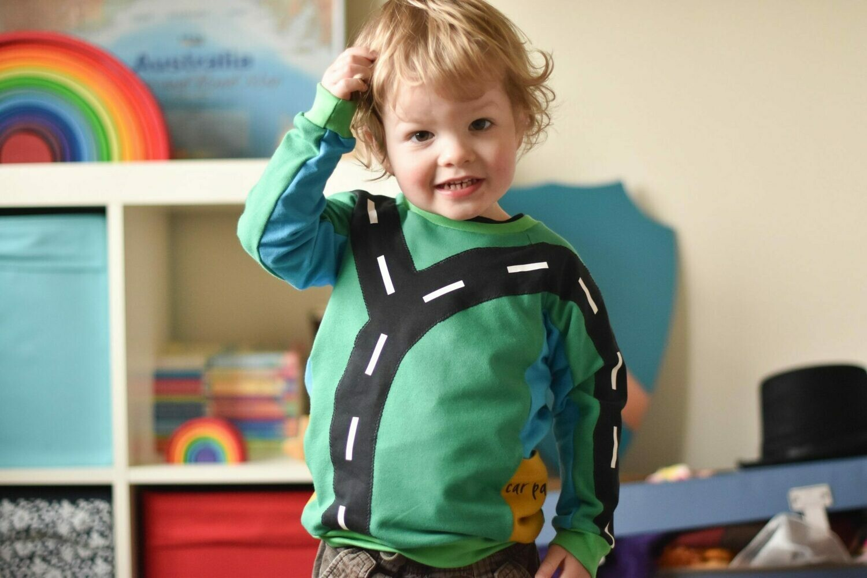 MBJ - Beep-beep raglan sweatshirt