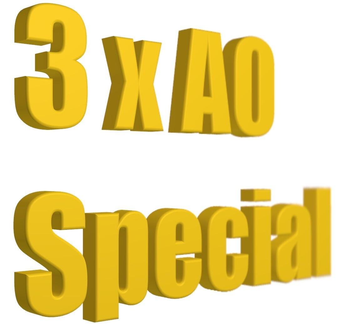 3 x A0 Budget Special