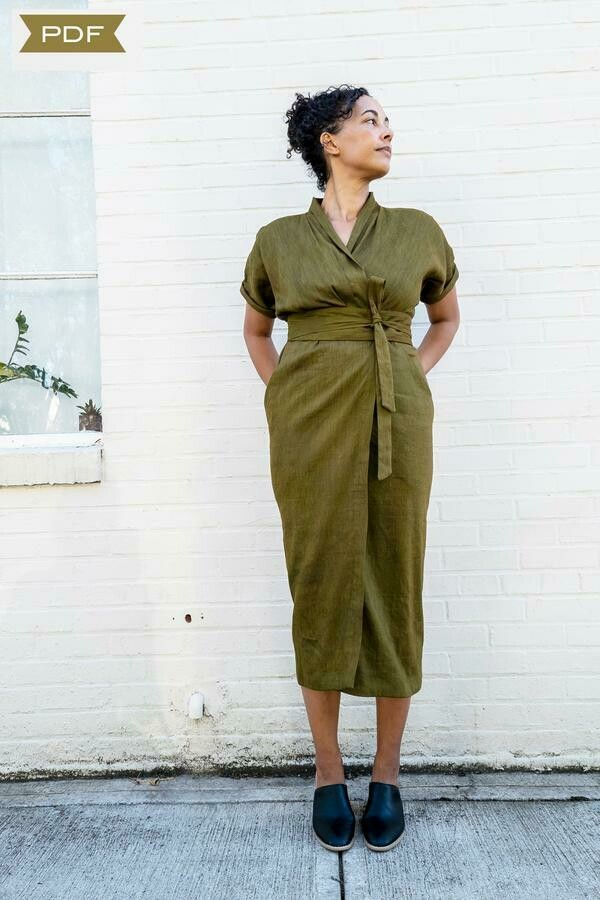 SH7 - Wildwood wrap dress