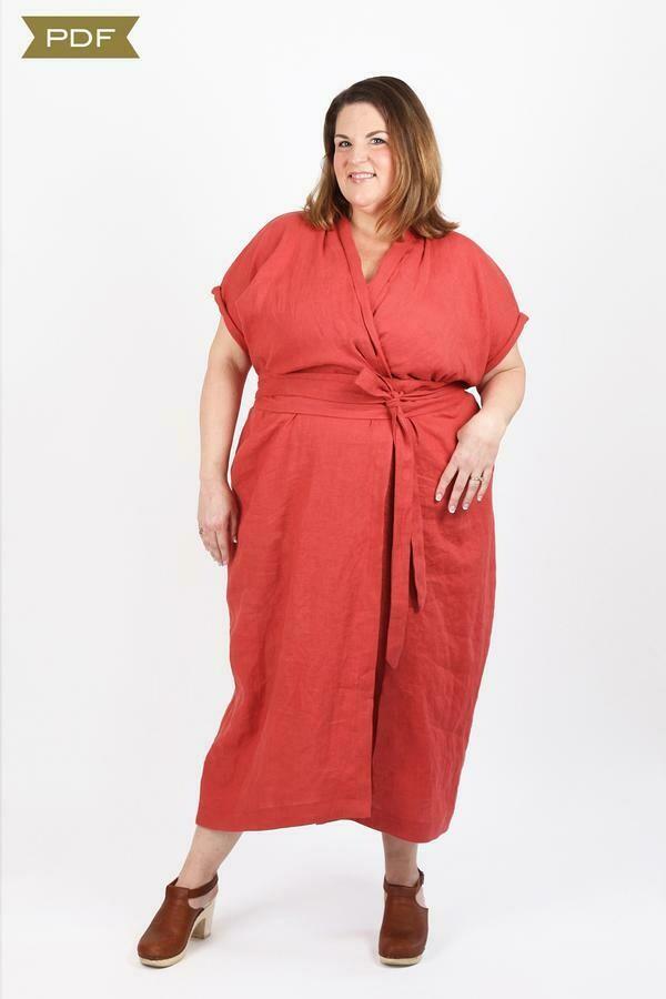 SH7 - Wildwood wrap dress curvy fit