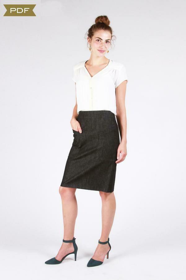 SH7 - Alberta Street pencil skirt
