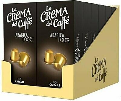 CAFFE ARABICA 100 % IN CAPSULE + OMAGGIO