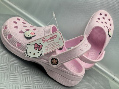 CROCS HELLO KITTY ROSA  DONNA