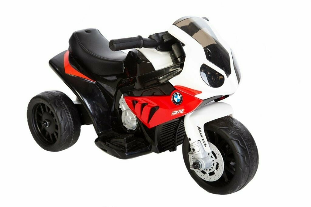 BMW MOTORCYKEL 6V CON LEATHERSEAT S1000