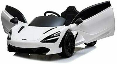 McLaren 720S Macchina Elettrica per Bambini 12V bianca