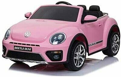 VW Maggiolino New Beetle Rosa 12V