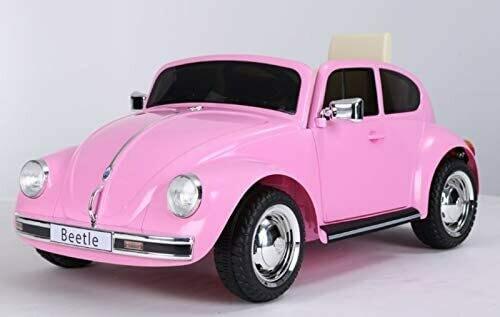 VW Beetle Retro, Rosa, 12V