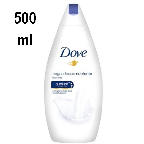 DOVE BAGNODOCCIA 500ML ORIGINAL NUTRIENTE E IDRATANTE