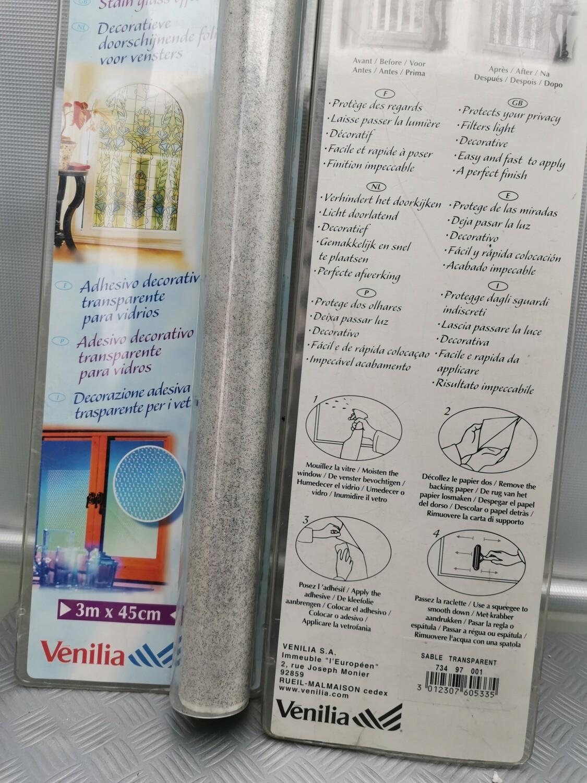 Plastica adesiva Sable trasparente  3 mt x 45 cm