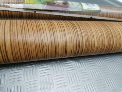 Plastica adesiva legno Zebran light 2 mt x 67,5 cm
