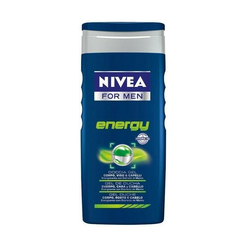 GEL DOCCIA NIVEA  MEN ENERGY 250 ML