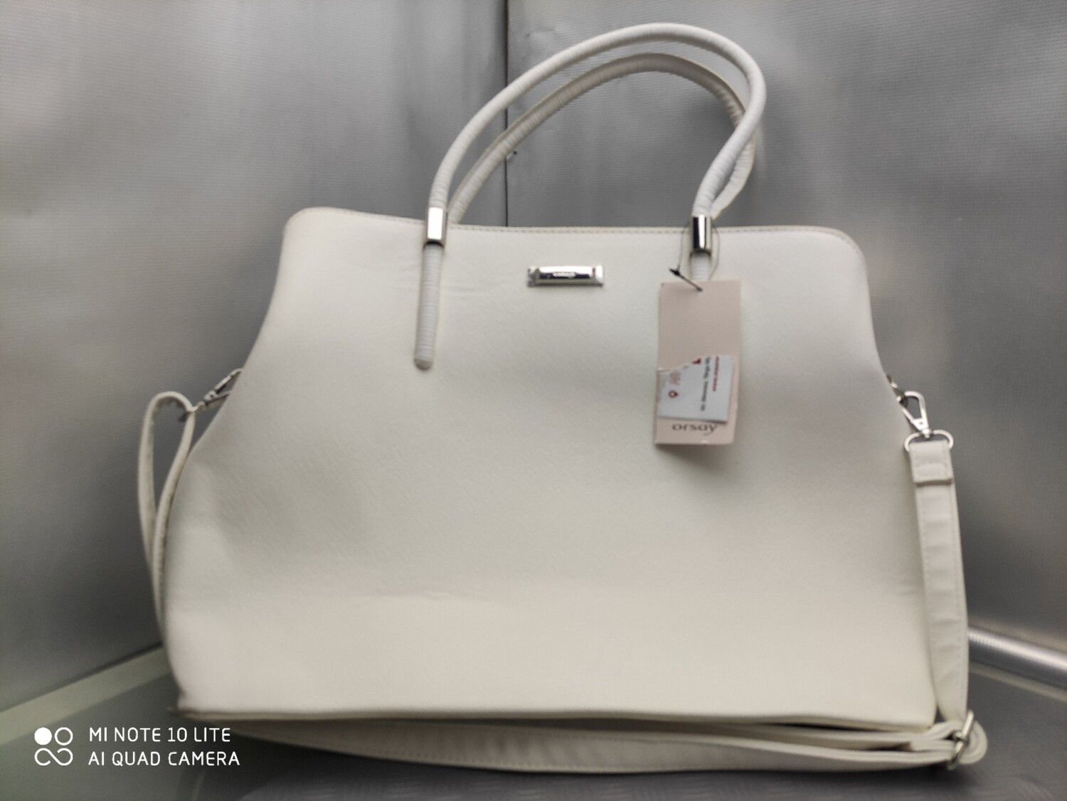 BORSA ORSAY BUSINESS LOOK BIANCA