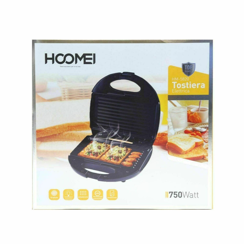 Piastra da toast sandwich elettrica tostapane Hoomei