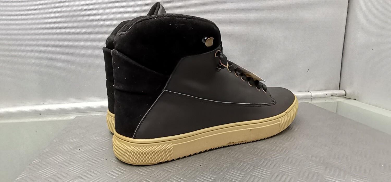 Sneakers medium in vera pelle