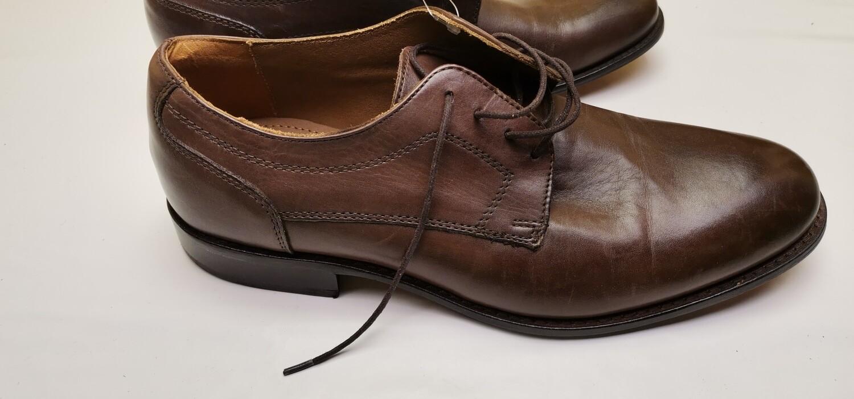 Scarpe basse per tutti i giorni uomo marron vera pelle
