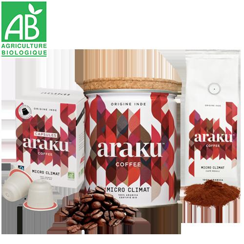Araku Café MICRO CLIMAT