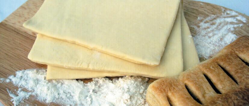 Тесто слоеное дрожжевое пласты 0,400кг Покоторг 20шт.